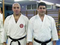 Juan Carlos Zaballos y Máximo Domínguez