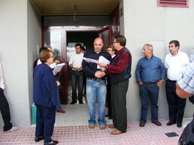 Entrega de Viviendas de La Fabril, Béjar