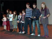 Deportistas galardonados Gala La Luna, Béjar