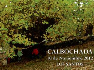 Calbochada, Los Santos