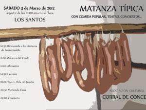 Cartel Matanza Tipica de Los Santos