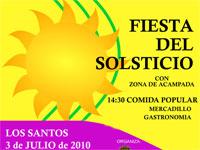 Fiesta del Solsticio, Los Santos