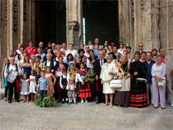 Festividad Virgen del Castañar en Palma de Mallorca