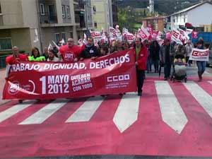 Manifestación Primero de Mayo, Béjar