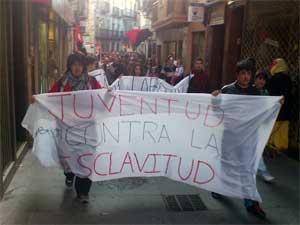 Manifestación Huelga General en Béjar