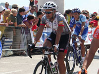 Mario García en los Campeonatos de España de Ciclismo