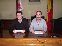 Manuel Martín Bejarano y Juan Tomás Sánchez