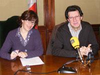 Elena Martín y Manuel Martin, Concejales Ayuntamiento de Béjar