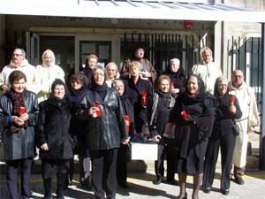 Mayores de Béjar en el Entierro de la Sardina