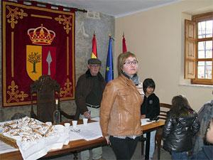 Rifa de San Antón, Ayuntamiento de Mogarraz