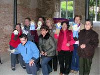 Grupo de mujeres de Mogarraz. Marionetas por la Igualdad