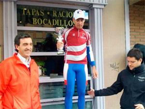 Moises Dueñas, campeón de Castilla y León. Foto: Twitter MoiDue