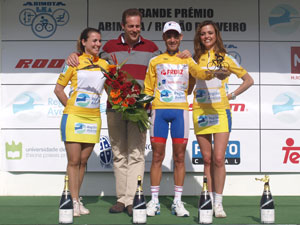 Moises Dueñas, ganador GP Abimota Región de Aveiro