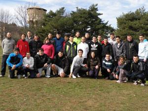 Participantes en el Curso de Monitor de Atletismo