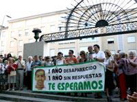 Manifestación apoyo José Luis Morante, Béjar