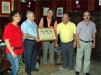Donación de José Moretón al Museo Textil de Béjar