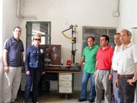 Donación de utensilios textiles al museo textil de Béjar por parte de la Cooperativa Estambrera Bejarana