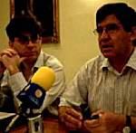 Alejo Riñones y Luis Francisco Martín