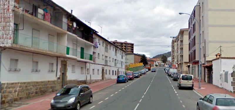 Calle obispo zarranz, viviendas donde se produjeron los hechos
