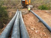 Obras abastecimiento de aguas