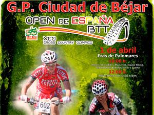 Cartel Open de España de BTT en Béjar