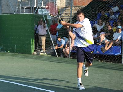 Carlos Domínguez, Open de Tenis Béjar 2010