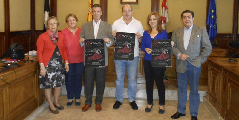 presentacion de al opera, en el ayuntamiento de Béjar