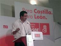 Oscar López, candidato PSOE junta de Castilla y León