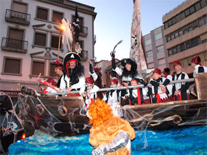 Barco Pirata Out Zone, Carnavale Béjar 2012