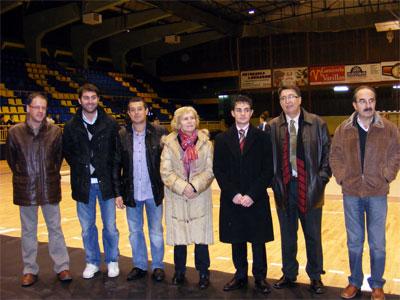 Reinaguración del pabellón municipal de deportes de Béjar