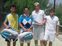 Ganadores Torneo 24 horas de Tenis y Pádel de Béjar