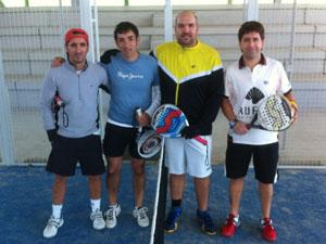 Parejas participantes en las finales del Torneo