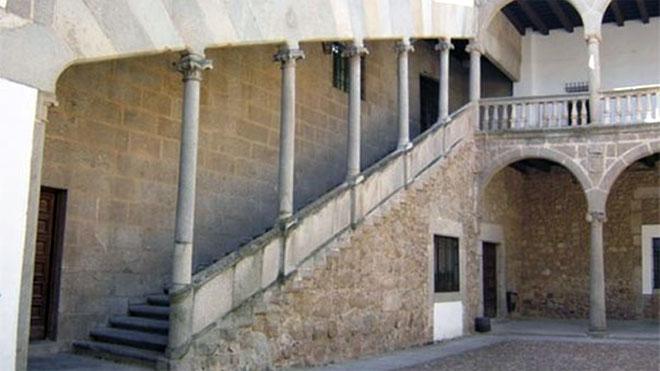 Interior del Palacio Ducal Patio del IES Ramón Olleros Gregorio