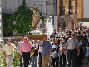 Procesión de El Salvador, Peñacaballera