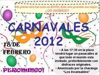 Cartel Carnavales 2012 en Peromingo