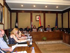 Pleno municipal de Béjar, Julio 2011
