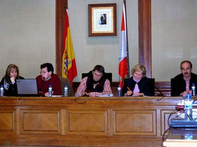 Pleno municipal Béjar, Febrero 2010