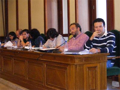 Pleno municipal Béjar, mayo 2010
