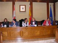 Pleno municipal de Béjar, Septiembre 2010