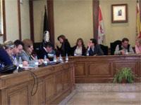 Pleno municipal de Béjar. Abril 2011