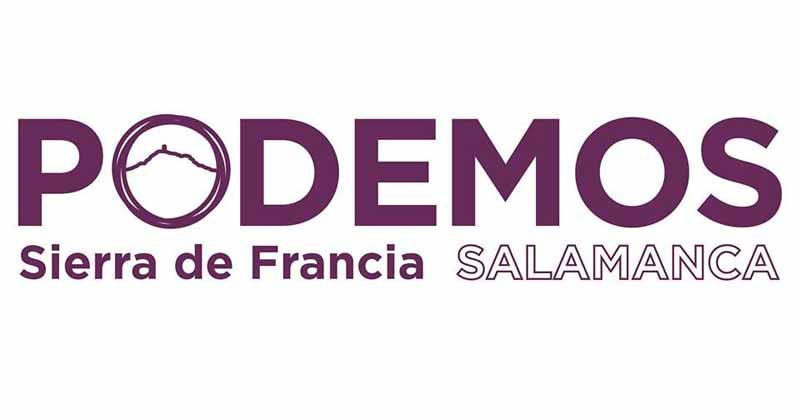 logotipo de podemos personalizado para la sierra de francia