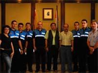 Nuevos policias locales en Béjar
