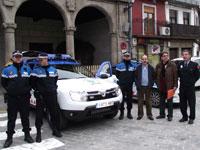Nuevo vehículo Policia local de Béjar