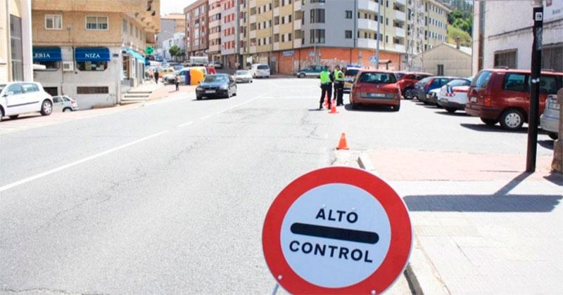 control de la Policia Local de Béjar