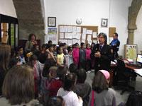 Visita escolares a las dependencias de la Policia de Béjar