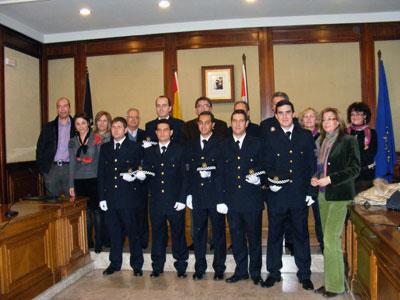 Toma de Posesión de los nuevos policias locales de Béjar