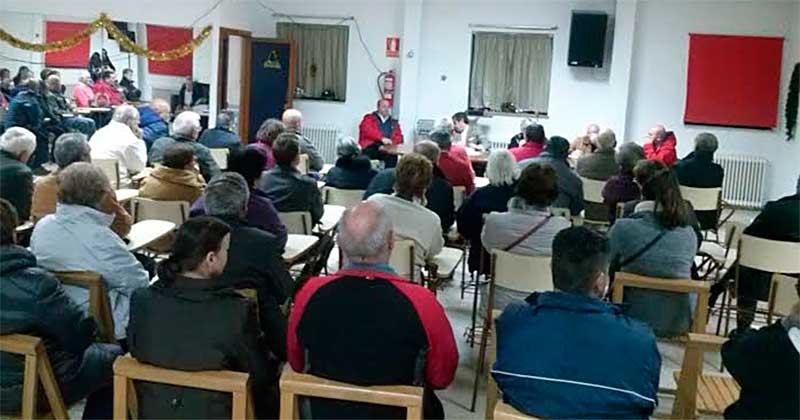 Asamblea asociación de vecinos de Los Praos