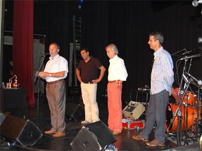 Entrega premios Alquitara de la música, Béjar