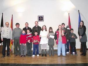 Premiados Cuentos de Navidad y Concurso de Belenes, Béjar 2012