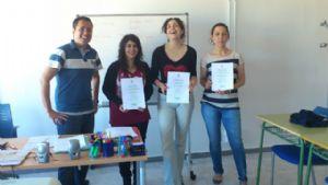 Clausura del Curso de Ingles de Premysa Aprende+ 2011